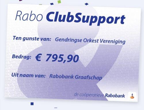 Bedankt voor uw stem! Rabo clubsupport 2020